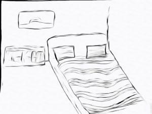 Как умереть во сне на кровати в комнате